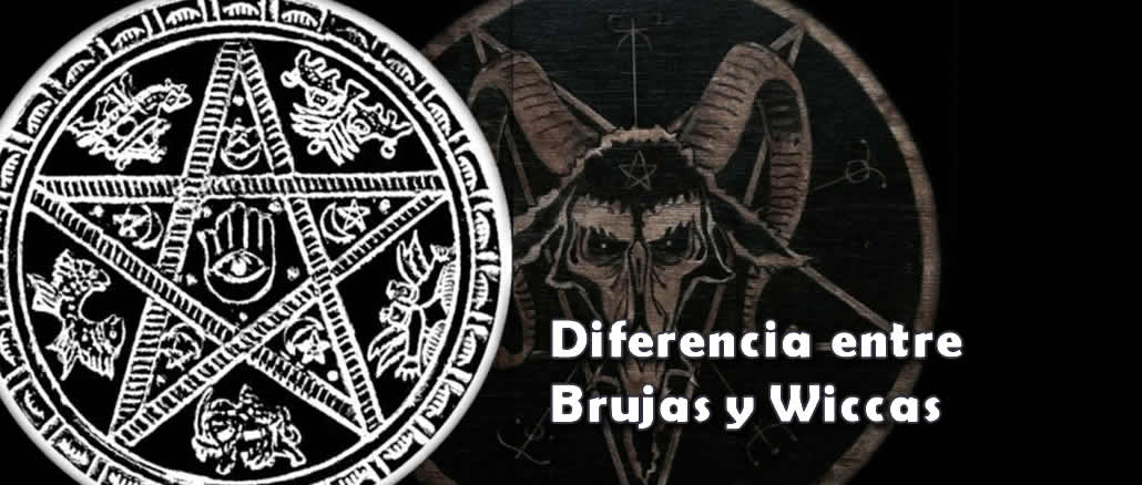 Diferencia Bruja y Wicca